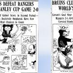 1929 Bruins cartoons.jpg