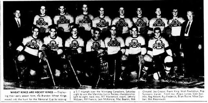 1948-49 MJHL Season