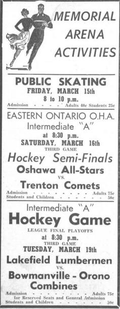 1956-57 OHA Intermediate A Playoffs