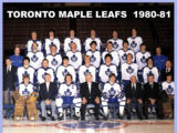 1980–81 Toronto Maple Leafs season