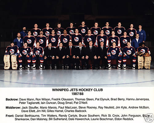 1987–88 Winnipeg Jets season