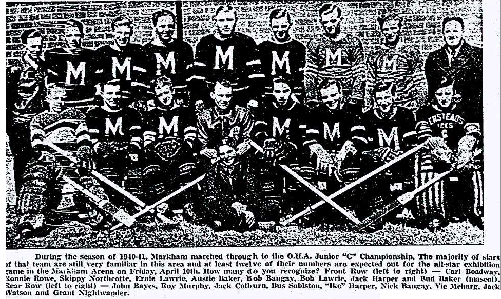 1940-41 OHA Junior C Season