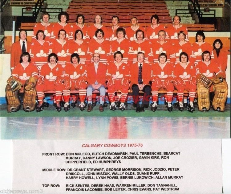 1975–76 Calgary Cowboys season