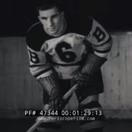 "BOSTON BRUINS HOCKEY TEAM 1937 w COACH ART ROSS ""WORLD'S FASTEST GAME"" 47344"