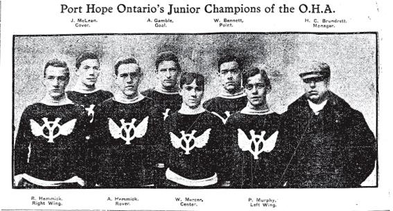 1905-06 OHA Junior Season