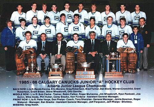 1985-86 AJHL Season