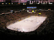 Interior of Joe Louis Arena