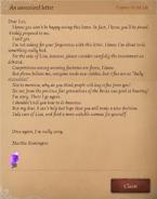 Leo's Letter