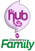 The Hub on Discovery Family (2020) Logo