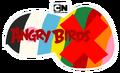 Angry Birds X Flat Logo