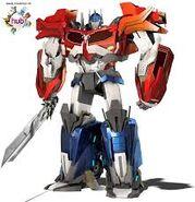 Optimus Prime ( Transformers Prime Beast Hunters version )
