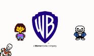 Warner bros pictures logo form undertale film