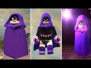 LEGO DC Super-Villains - Raven's All Powers & Abilities