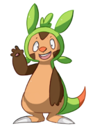 Cgi chespin by mareckirawr by taijeylover-d7workh