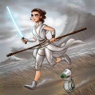 Star wars the rise of skywalker rey by daekazu ddpbwwv-pre