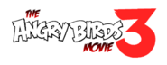The Angry Birds Movie 3 Logo
