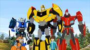 TransformersRobotsInDisguiseBumblebeeTeam