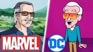 All Animated Stan Lee Cameos in Marvel & DC (R.I.P