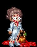 Eileen as a zombie fashionista