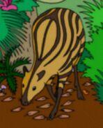 Striped deer-agouti (SciiFii)