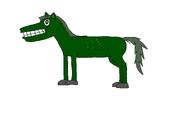 Ferd the Zombie Horse