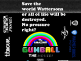 The Amazing World of Gumball The Movie! (2021 theatrical/HBO max film)