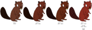 Rutt Beaver's color evolution