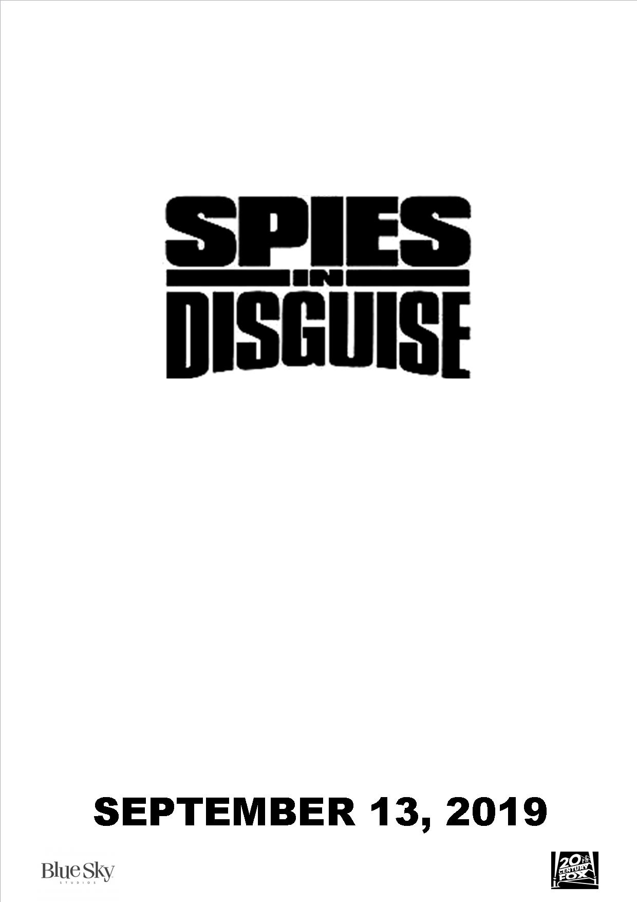 Spies In Disguise 2019 Film Idea Wiki Fandom