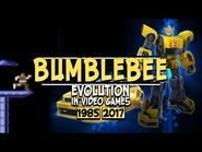 BUMBLEBEE- Evolution in Video Games (1985-2017) - Transformers