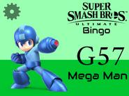 Mega Man SSBU Bingo