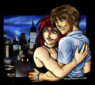 Mary Jane and Peter Parker