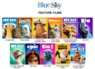 Blue sky studios feature films