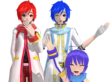 Vocaloid Kaito and His Siblings