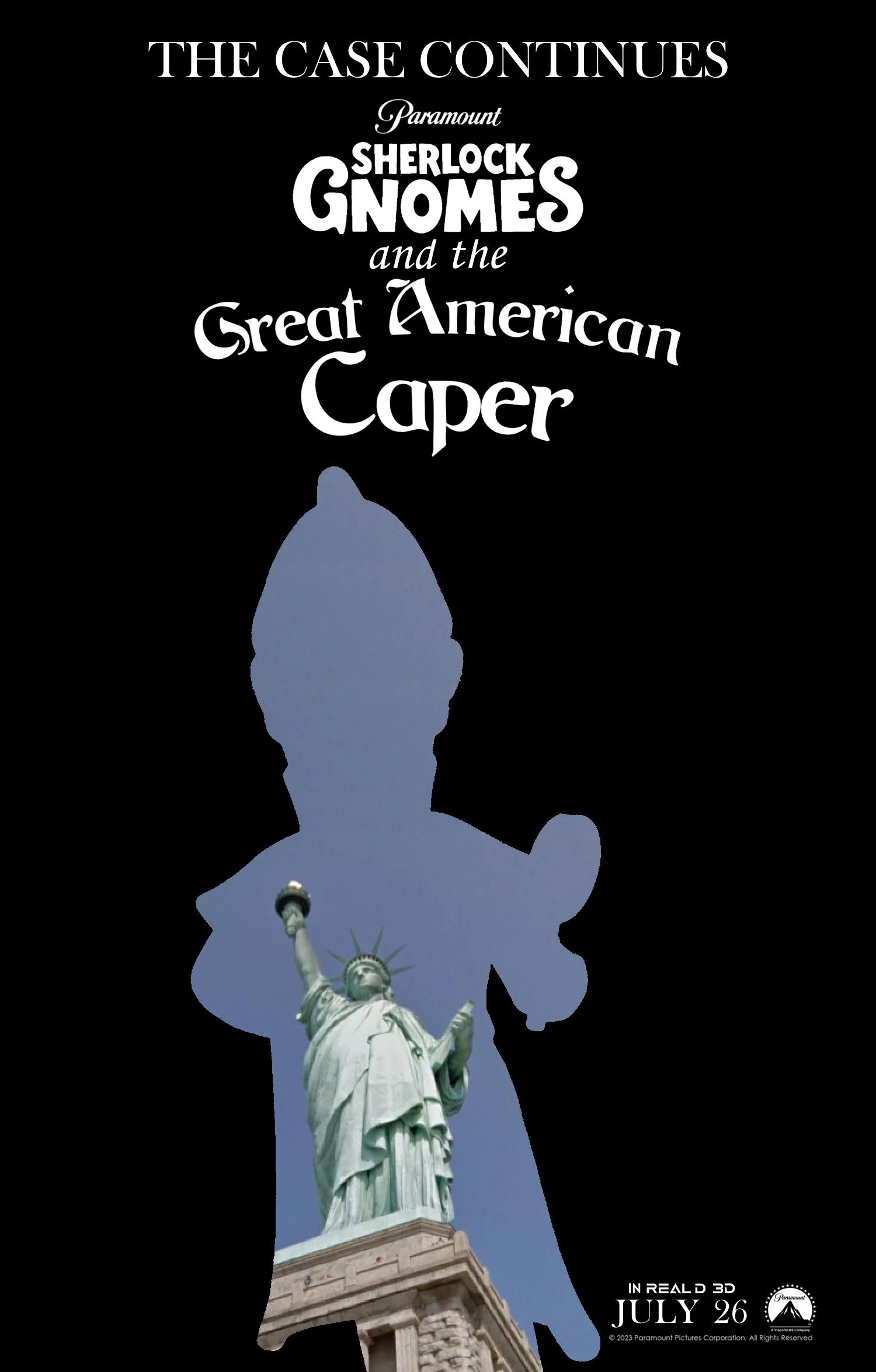 Sherlock Gnomes and the Great American Caper