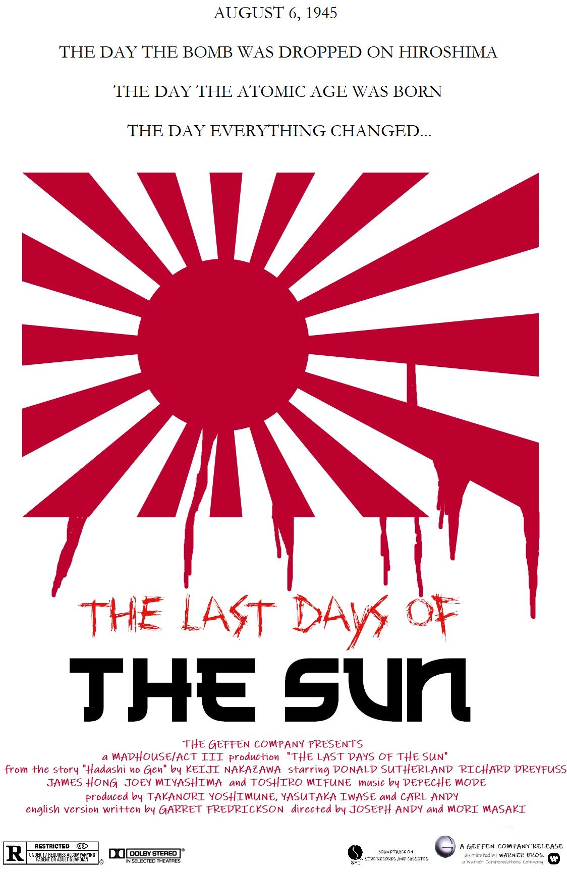 The Last Days of the Sun