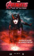 Elizabeth olsen scarlet witch age of ultron by ironmanjakarta-d6yw3m8