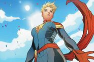 Captain Marvel Comic Cover.0