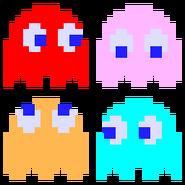 Ghosts (Pac-Man Sprites)