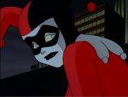Harley Quinn sad