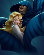 Tandy Bowen (Earth-TRN665) and Tyrone Johnson (Earth-TRN665) from Marvel Puzzle Quest 002