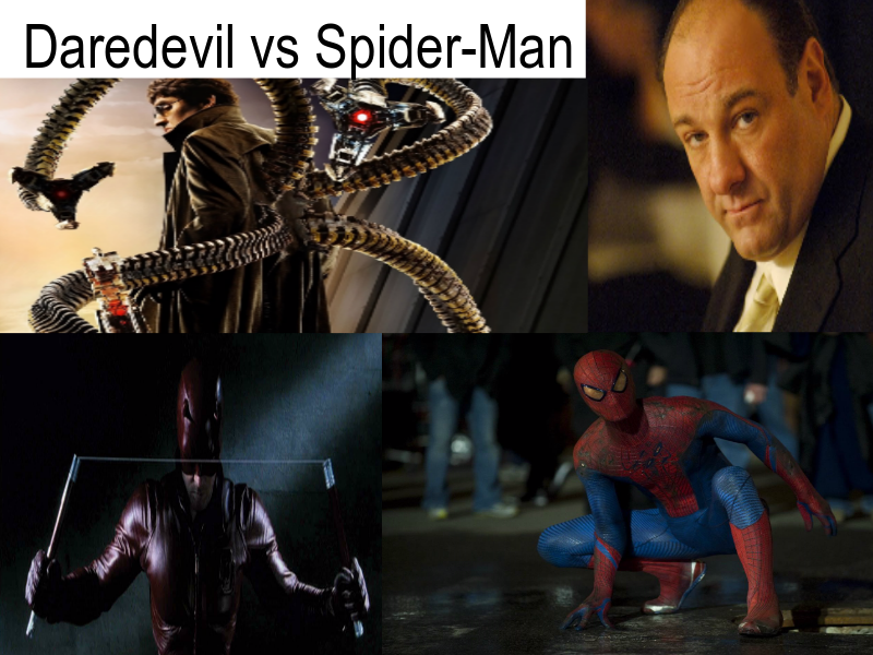 Daredevil vs Spider-Man