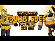 BUMBLEBEE- Evolution in Movies and Cartoons (1984-2020) TRANSFORMERS