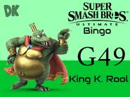 King K Rool SSBU Bingo