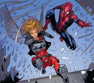 Peter Parker (Earth-616) and Teresa Parker (Earth-616) from Amazing Spider-Man Vol 5 35 001