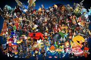 Playstation all stars mega rooster ever by alexray35-d6tiovs