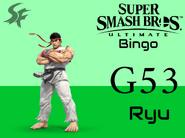 Ryu SSBU Bingo