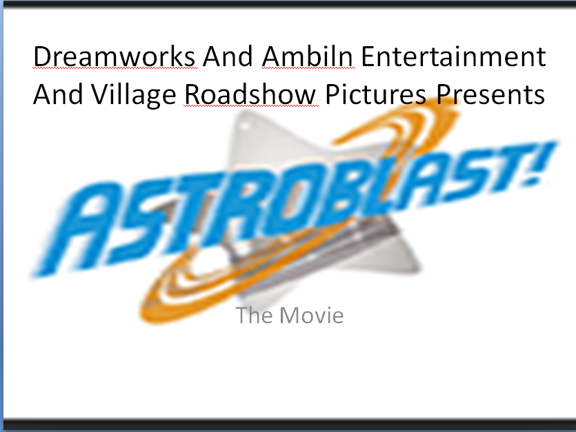 Astroblast!:The Movie