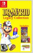 Dr Mario legacy collection cover art