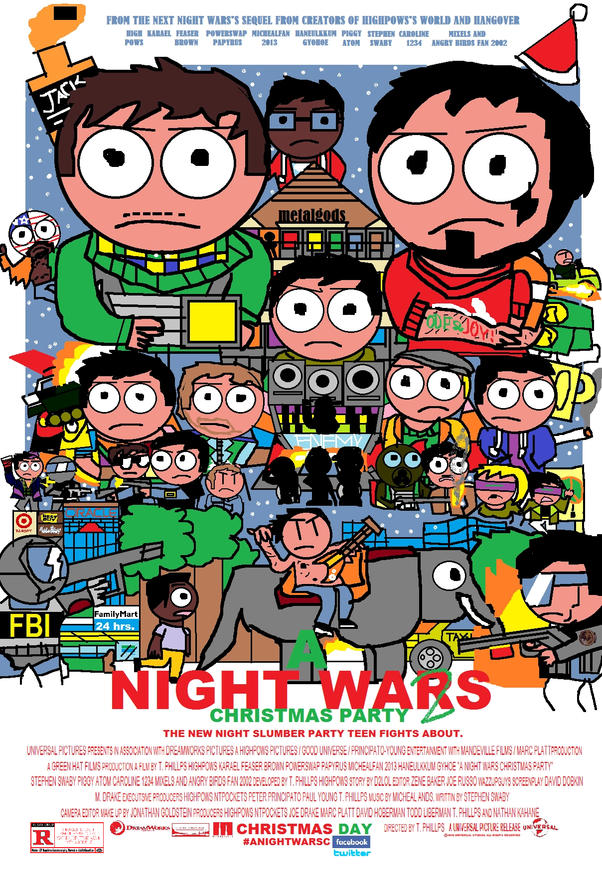 A Night Wars Christmas Party