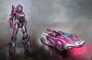 Arcee ( Character of Transformers la caída de Cybertron )